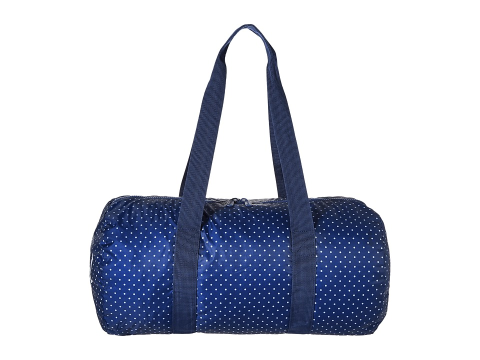 Herschel Supply Co. - Packable Duffle (Limoges/White Polka Dot) Duffel Bags
