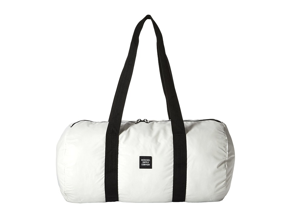 Herschel Supply Co. - Packable Duffle (White Reflective) Duffel Bags