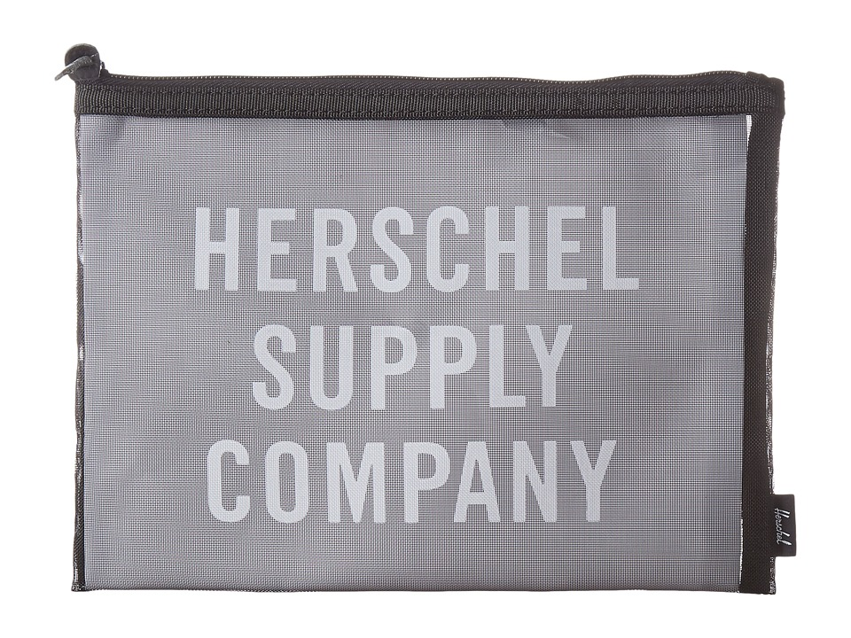 Herschel Supply Co. - Network Large - Mesh (Black/White Screenprint) Wallet