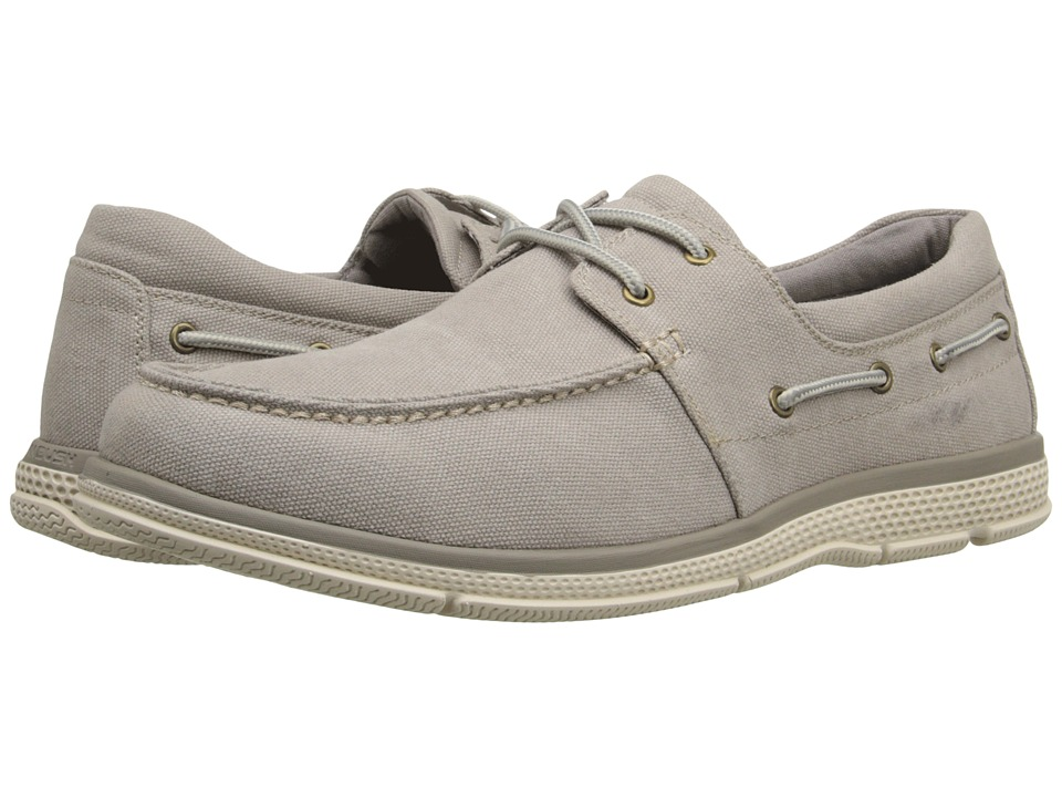 Nunn Bush Zac Two-Eye Moc Toe Boat Shoe (Sandstone Canvas) Men