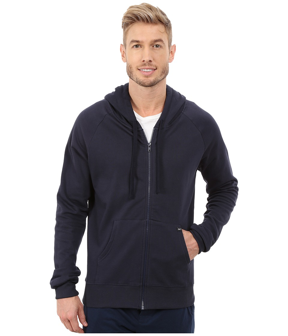 PACT - Navy Hoodie (Navy) Men's Sweatshirt