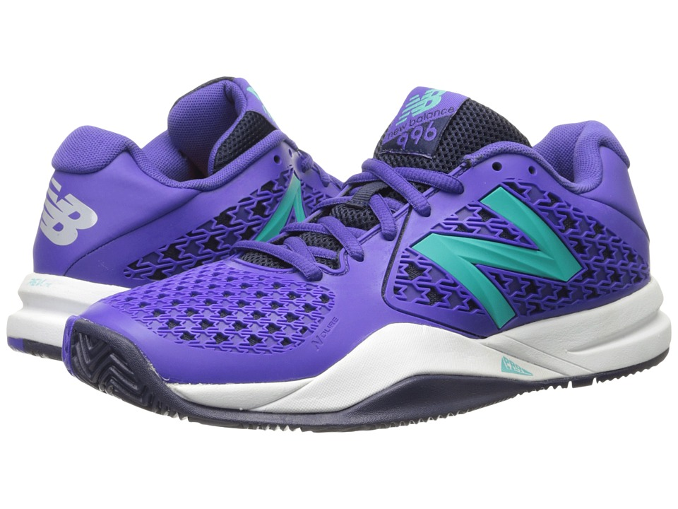 New Balance - WC996v2 (Purple) Women's Tennis Shoes