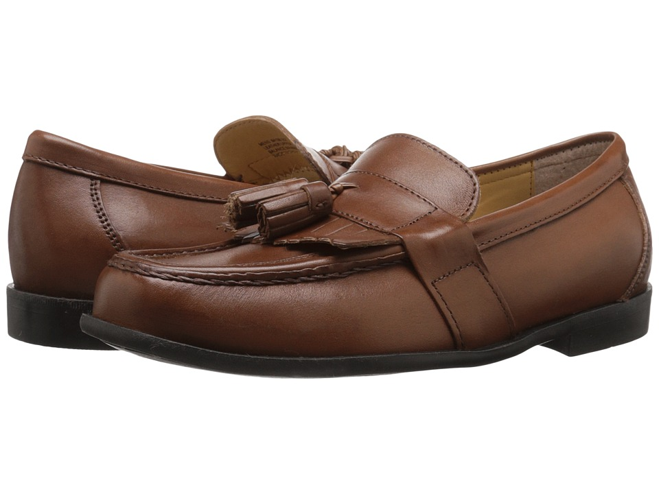 Nunn Bush - Keaton Moc Toe Kilty Tassle Loafer (Saddle Tan) Men's Slip-on Dress Shoes