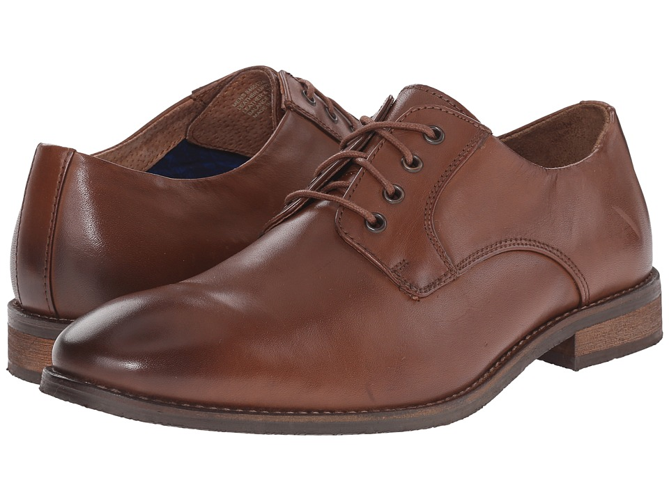 Nunn Bush - Howell Plain Toe Oxford (Tan) Men's Shoes
