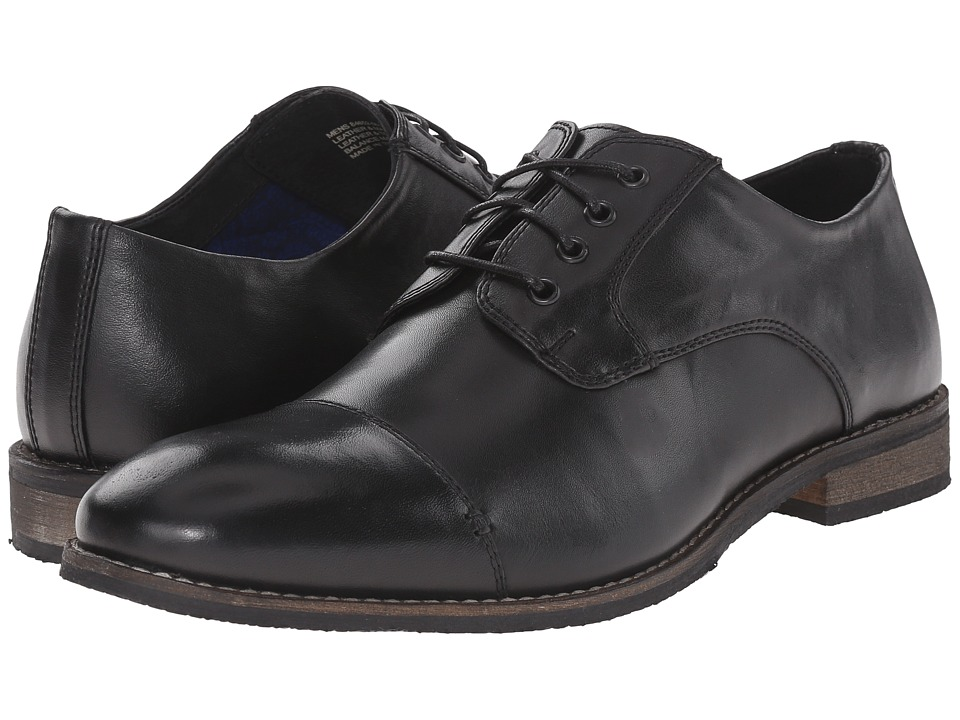Nunn Bush - Holt Cap Toe Oxford (Black) Men's Shoes