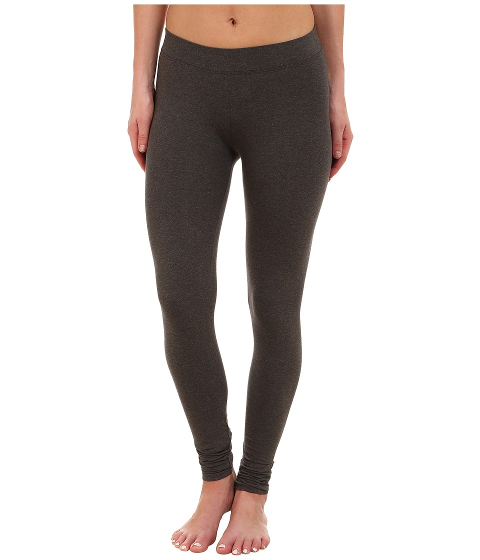 PACT - Everyday Charcoal Heather Leggings (Grey) Women's Clothing