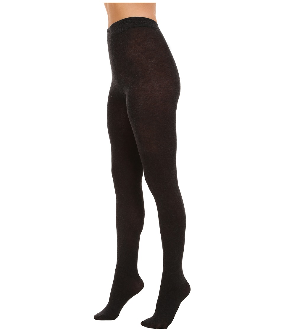 PACT - Everyday Charcoal Heather Tights (Grey) Women's Lingerie