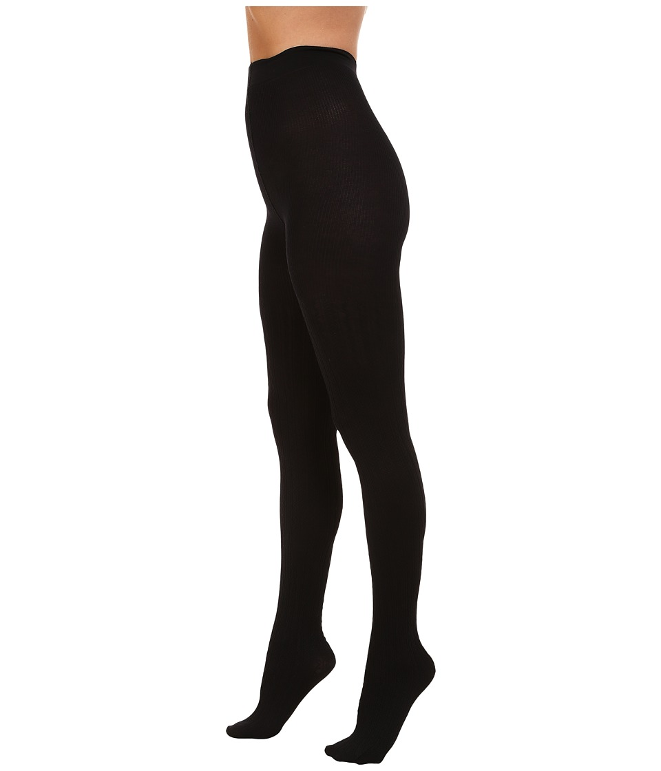 PACT - Everyday Chevron Tights (Black) Women's Clothing