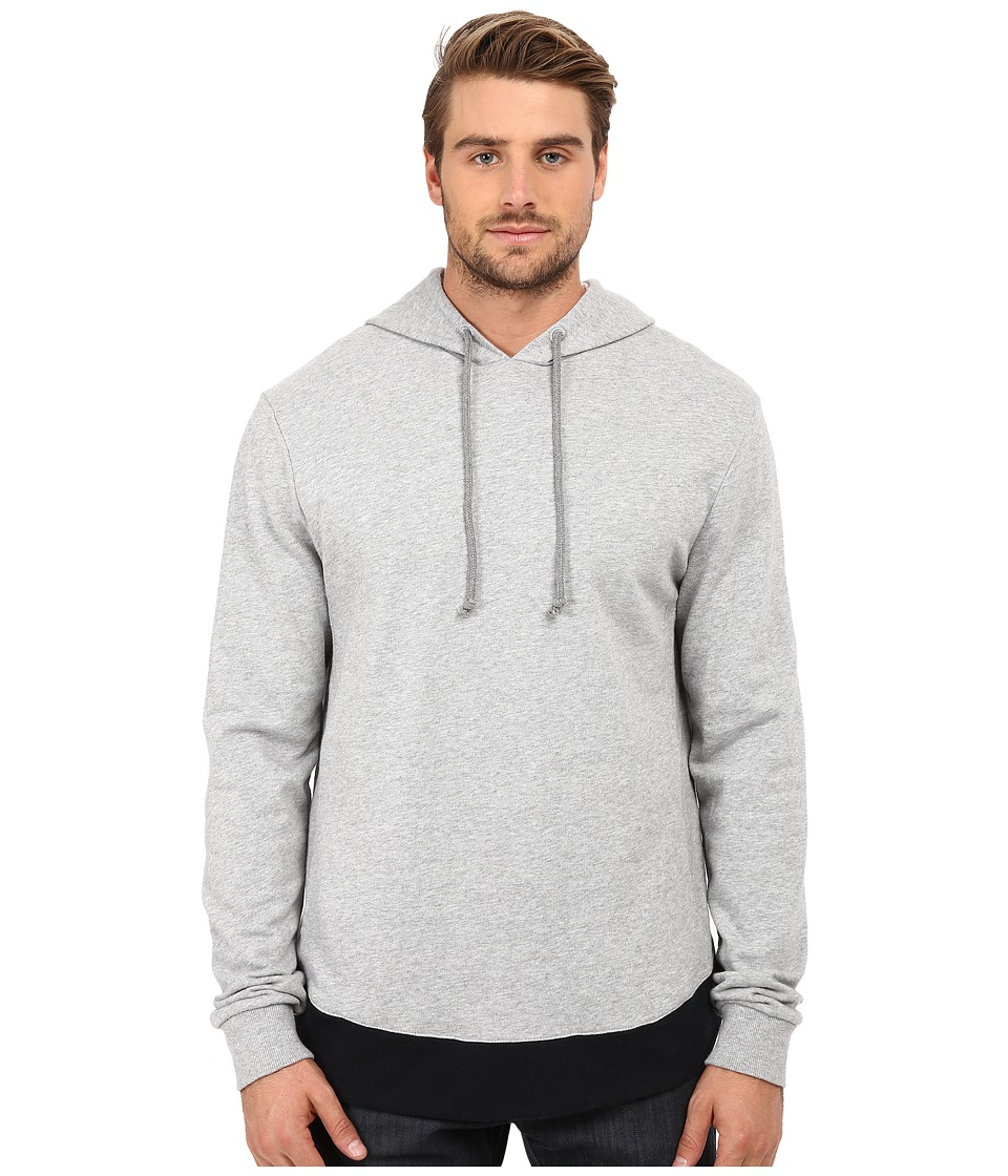 Alternative - Light French Terry Jetway Hoodie (Heather Grey) Men's Sweatshirt