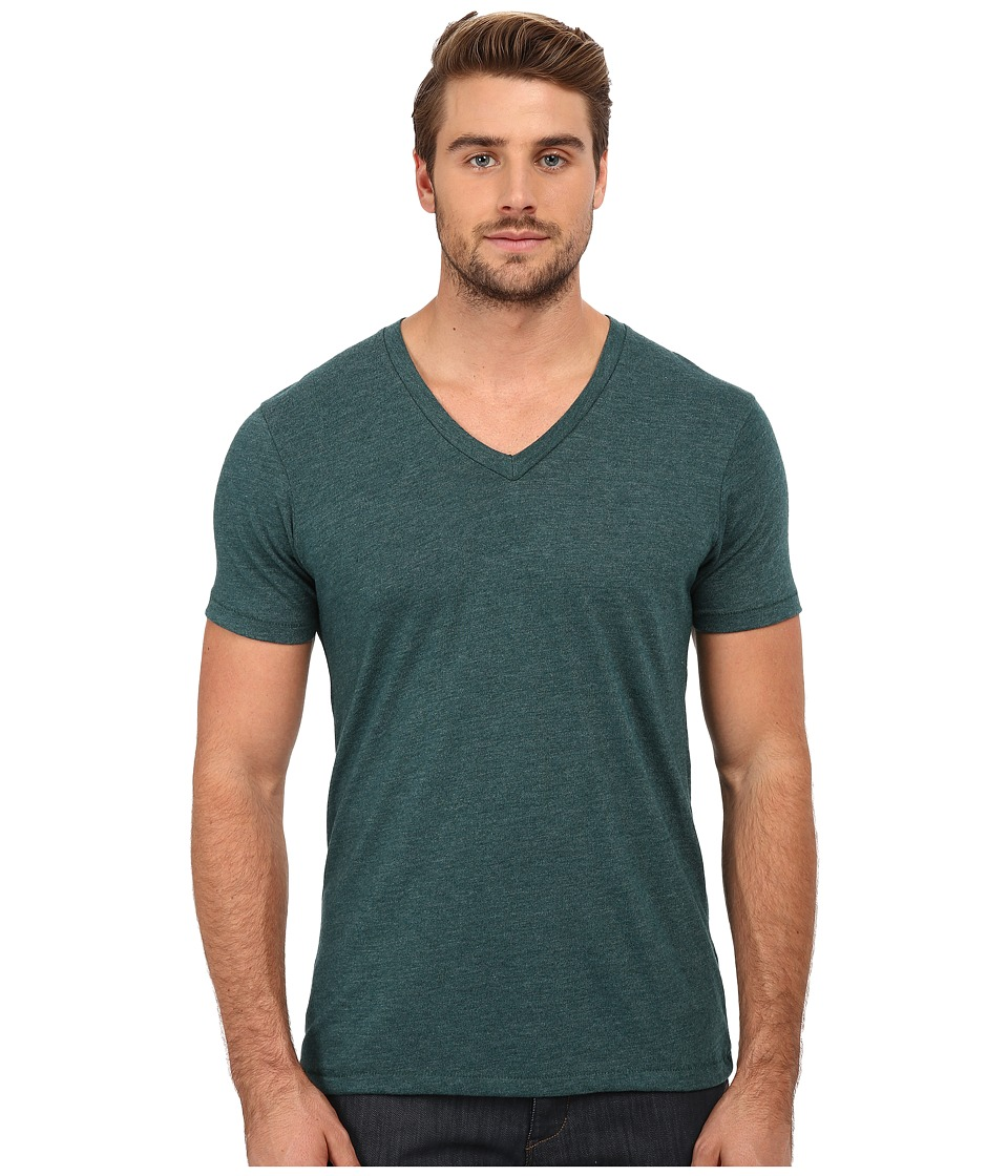 Alternative - Eco Jersey Boss V-Neck (Eco True Dragonfly) Men's Clothing