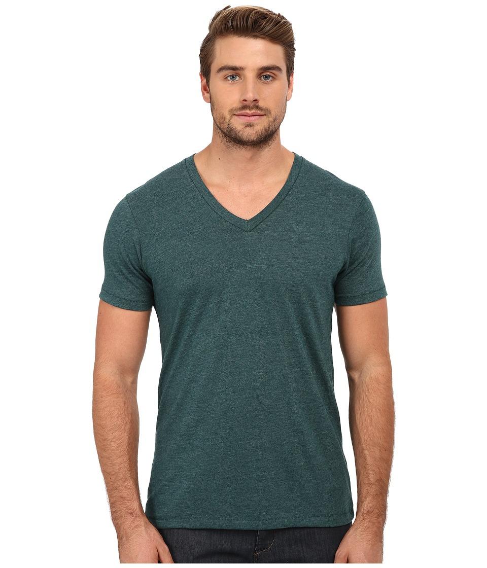 Alternative - Eco Jersey Boss V-Neck (Eco True Dragonfly) Men's Clothing