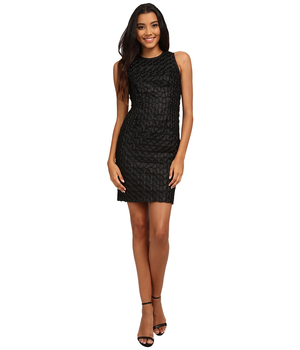 Calvin Klein - Lace Sheath Dress (Black) Women's Dress