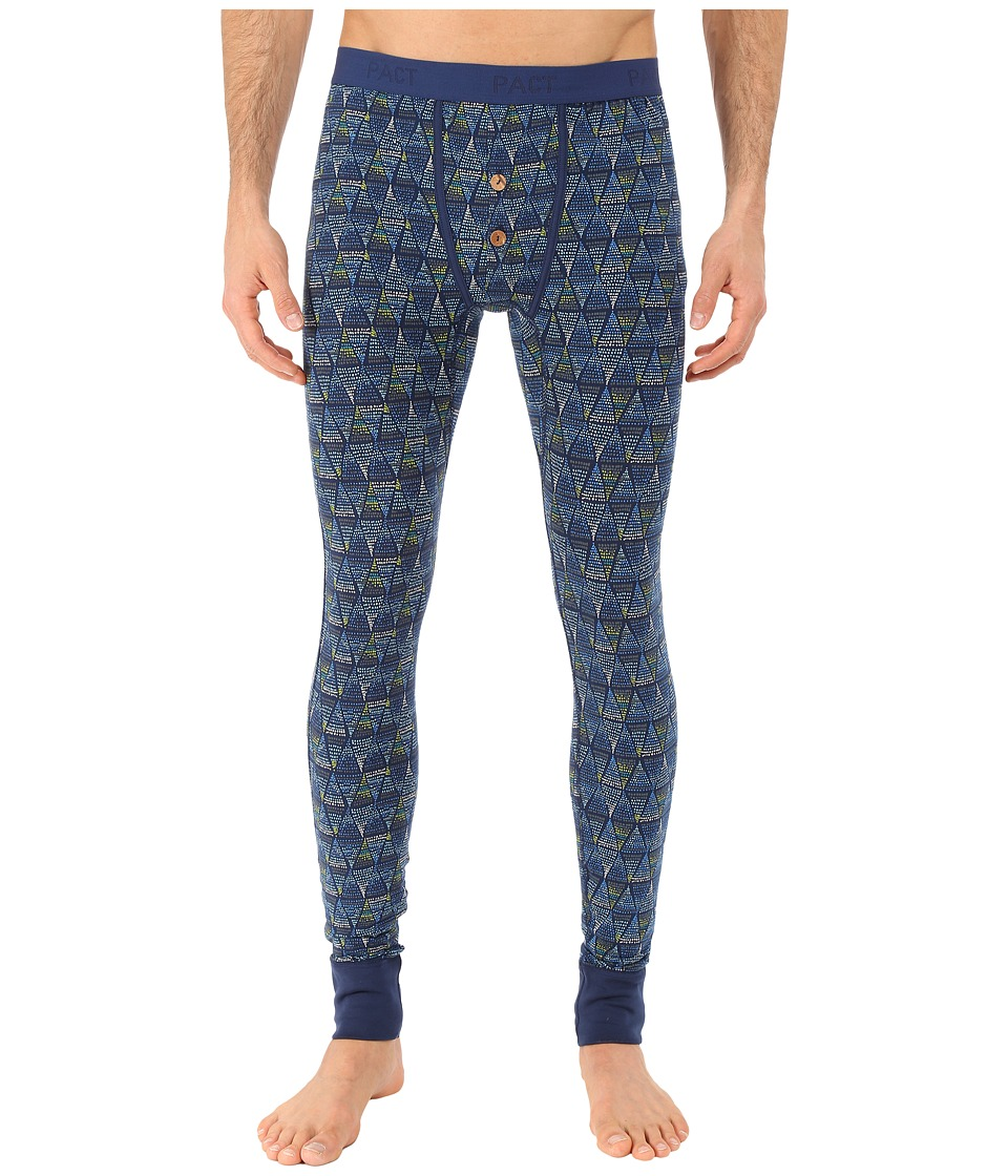 PACT - Alphine Long John (Blue) Men