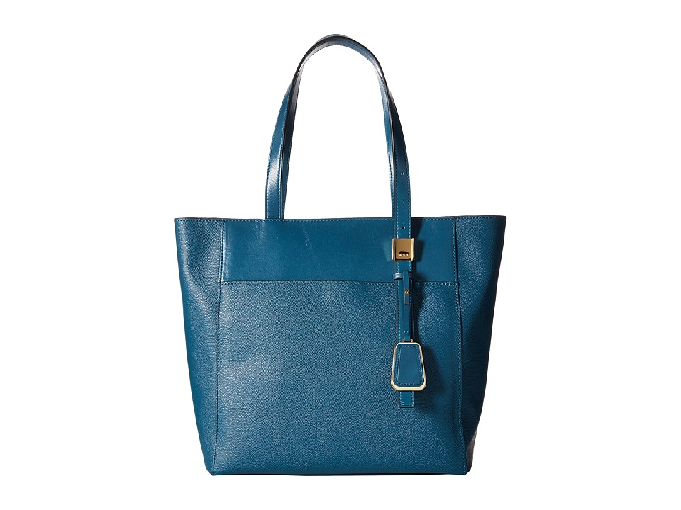 Tumi - Sinclair - Small Nora Tote (Teal) Tote Handbags