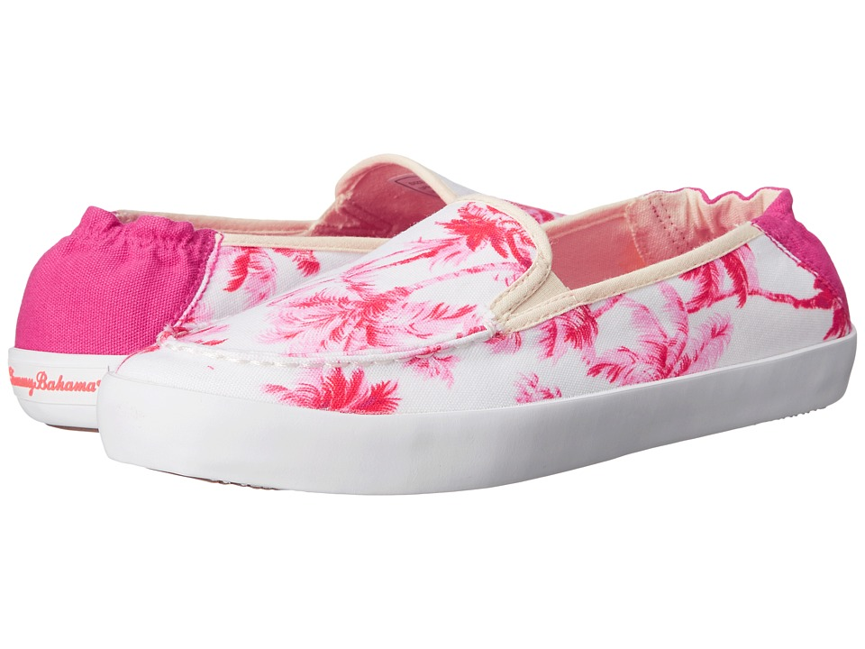 Tommy Bahama - Elina Art of Palms (Red Cherry) Women's Slip on Shoes
