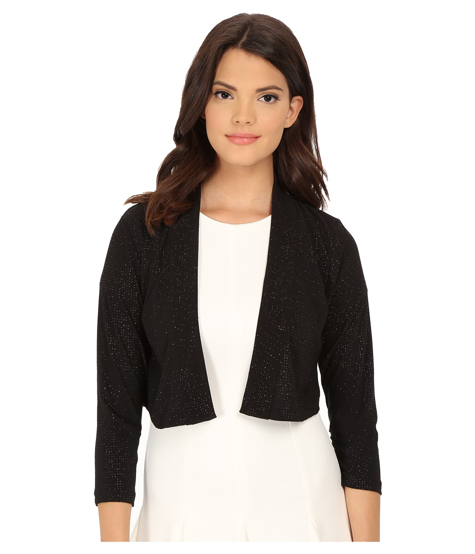 Calvin Klein - Shimmer Shrug (Black) Women's Dress