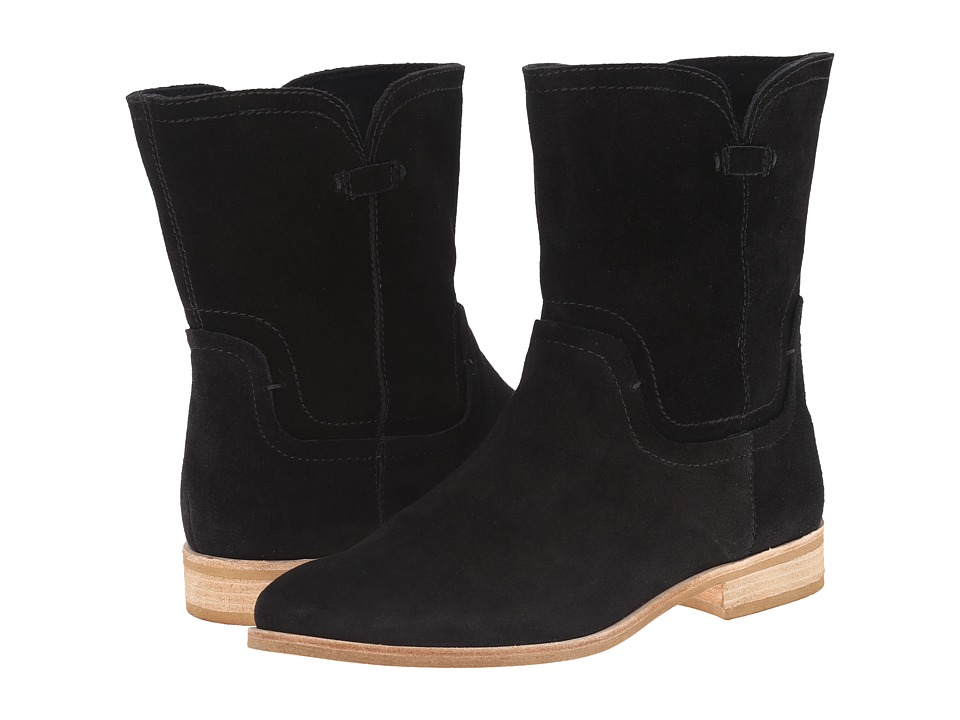 Splendid - Palisade (Black Silky Cow Suede) Women's Pull-on Boots
