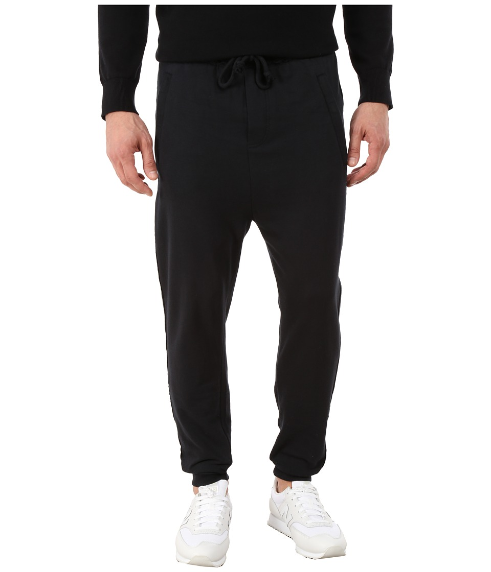 Alternative - Eco Micro Fleece Wearied Pants (Black) Men's Casual Pants