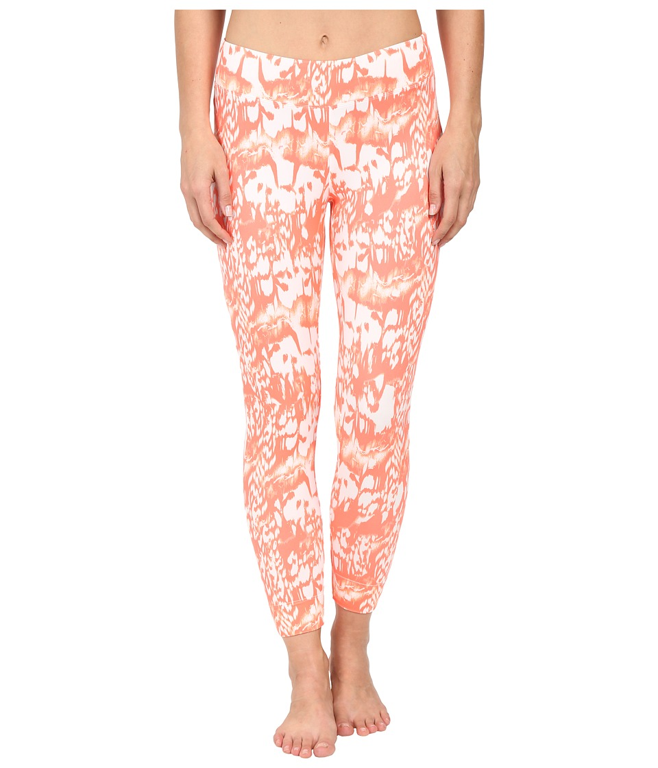 Lole - Celeste Leggings (Fiery Coral Reflection) Women's Casual Pants