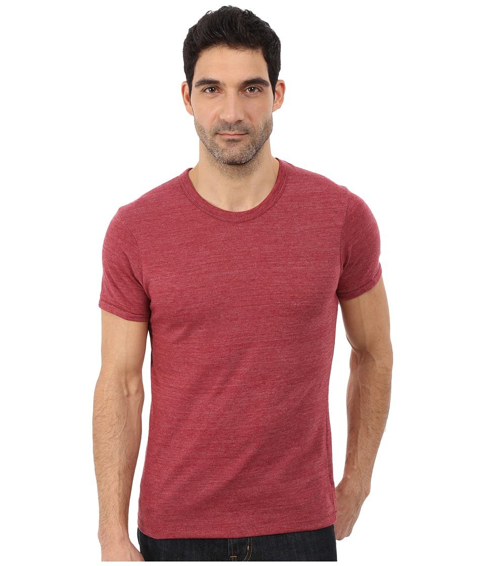 Alternative - Eco Crew T-Shirt (Eco True Carmine) Men's T Shirt