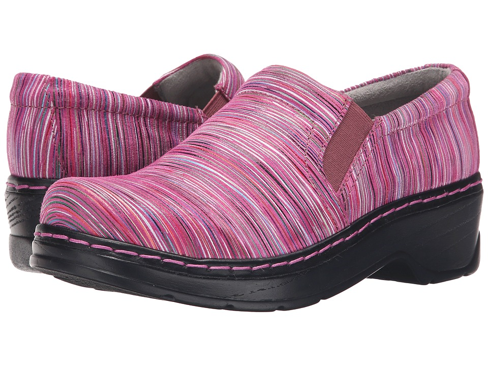 Klogs Footwear - Naples (Pink Candy Stripe) Women's Clog Shoes