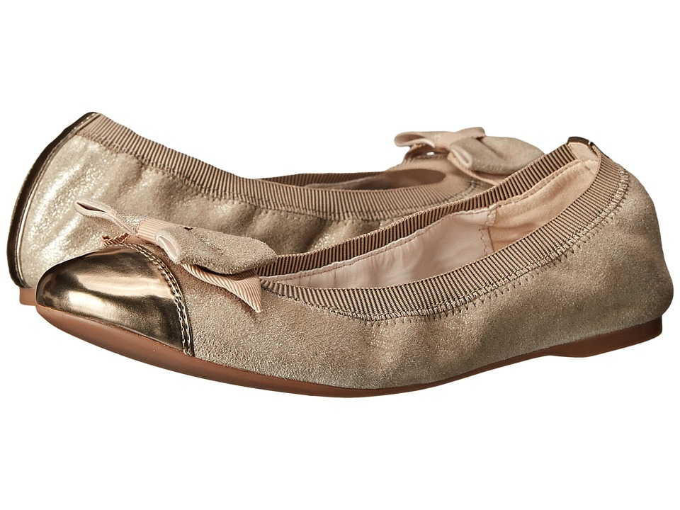 Cole Haan Cortland Detail Ballet II (Maple Sugar/Gold Metallic) Women