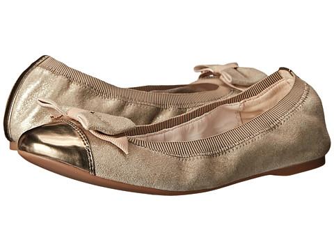 Cole Haan - Cortland Detail Ballet II (Maple Sugar/Gold Metallic) Women's Shoes