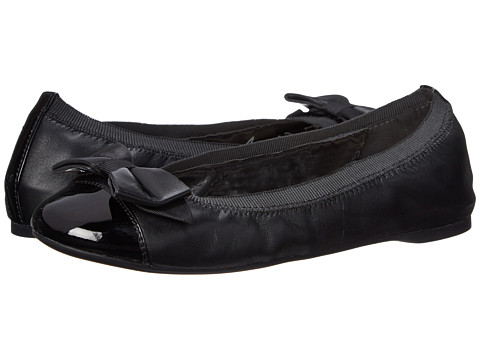 Cole Haan - Cortland Detail Ballet II (Black/Black Patent) Women