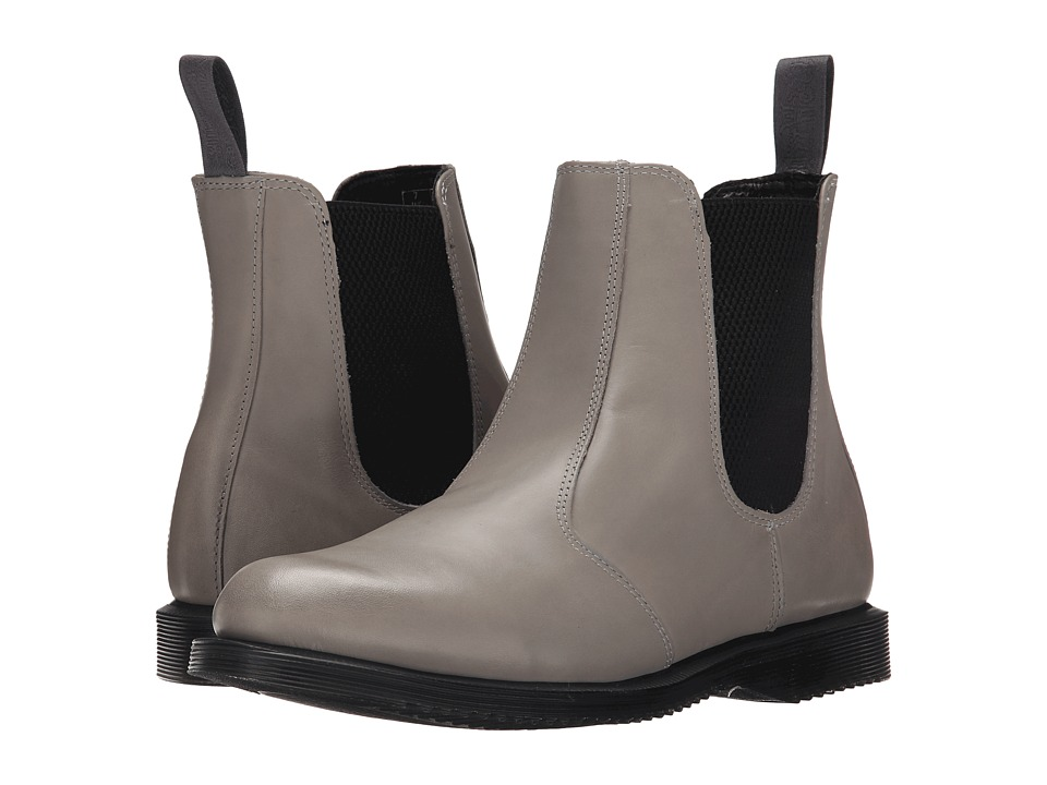 Dr. Martens Flora Chelsea Boot (Grey Burnished Servo Lux) Women