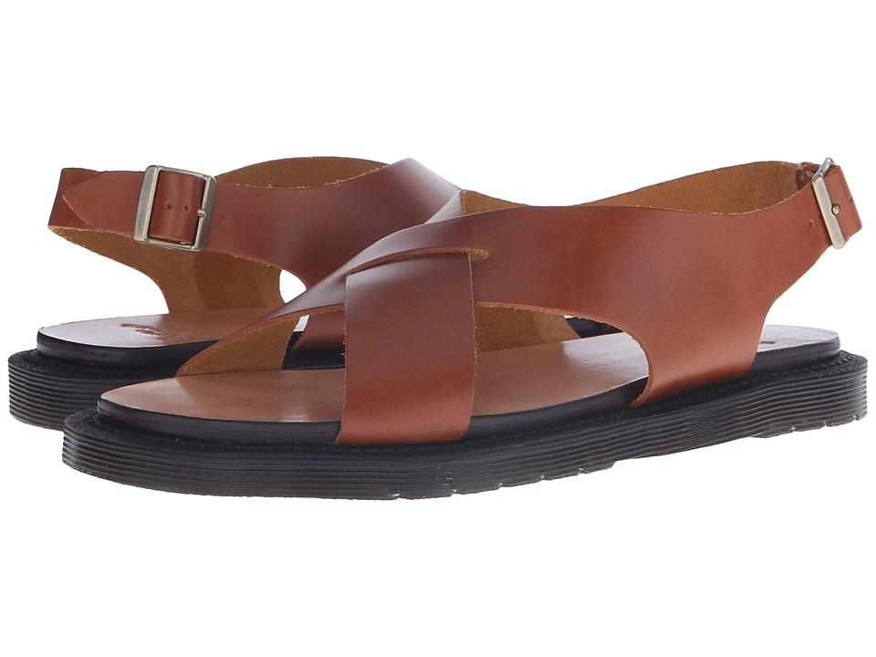 Dr. Martens - Abella Ankle Strap Sand (Oak Analine) Women's Sandals