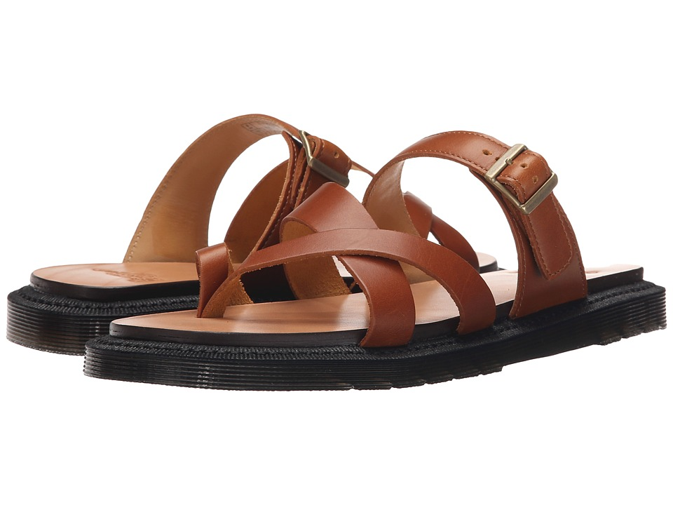 Dr. Martens - Kassy Strappy Toe Post (Oak Analine) Women's Sandals