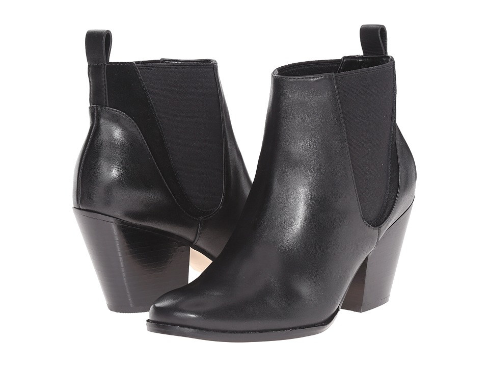 Cole Haan Tioga Bootie II (Black Leather) Women