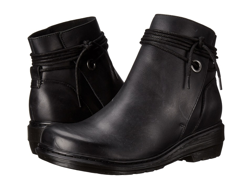 Dr. Martens Shelby Hi Tie Boot (Black Oily IIIusion) Women