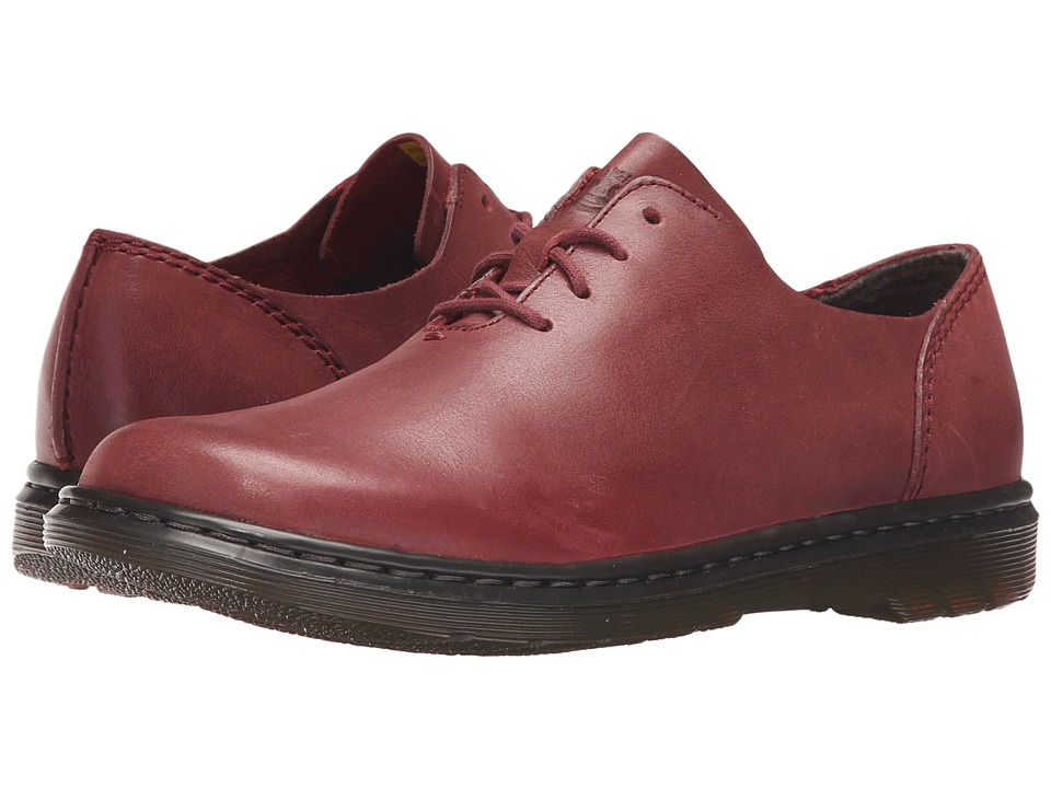 Dr. Martens - Lorrie Lace Shoe (Deep Red Oily Illusion) Women's Lace up casual Shoes