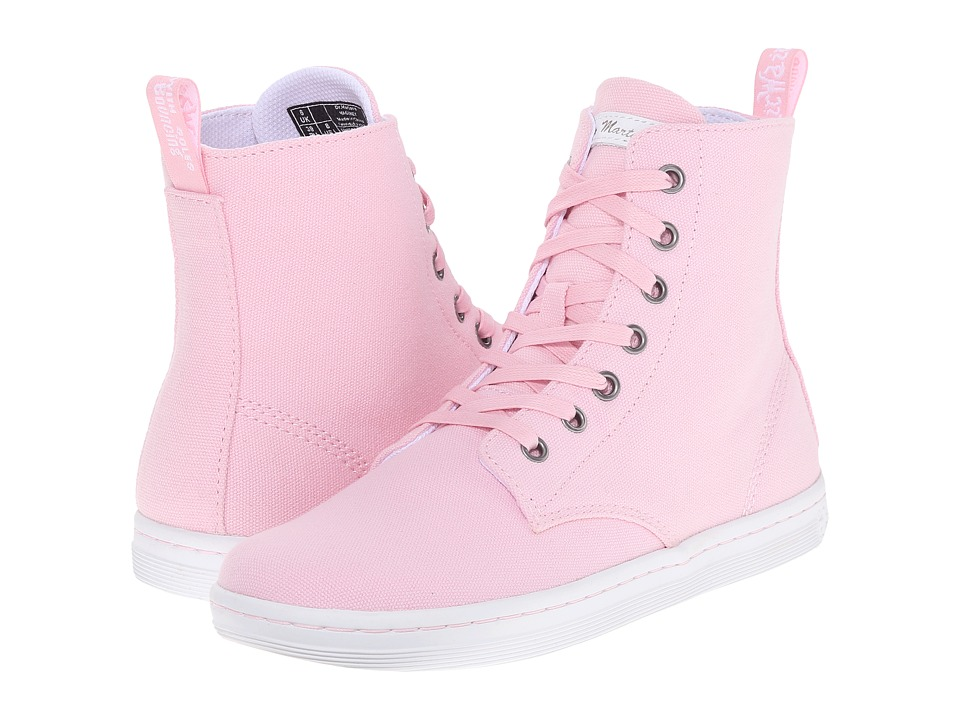 Dr. Martens Hackney 7-Eye Boot (Bubblegum Canvas) Women