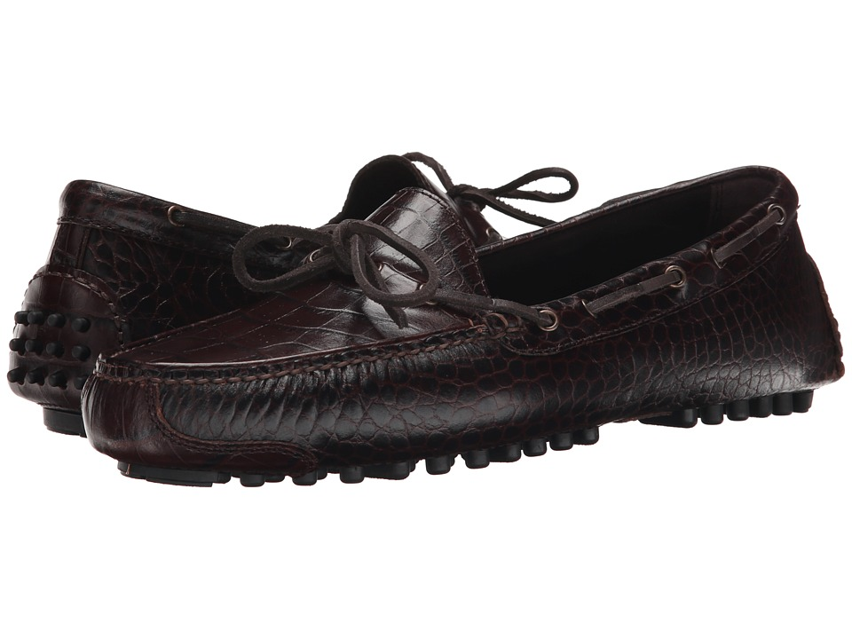 Cole Haan - Gunnison II (Brown Croc) Men's Shoes