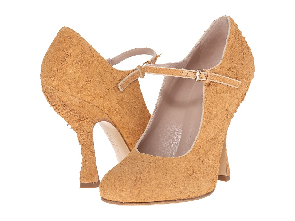 Vivienne Westwood Maryjane Patent Heel Sand Womens Maryjane Shoes
