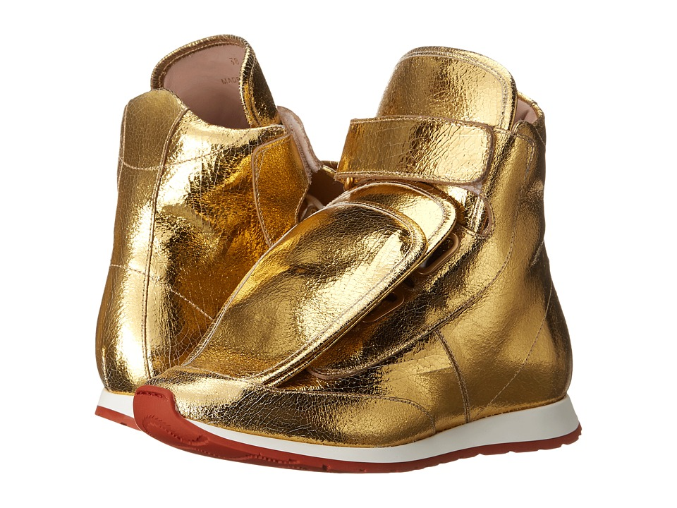 Vivienne Westwood 3-Tongue Trainer Gold Womens Shoes