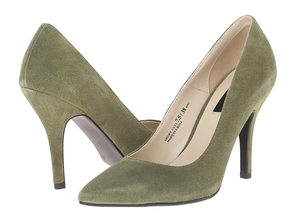 Chinese Laundry Elise Short Cuts (Olive Suede) High Heels