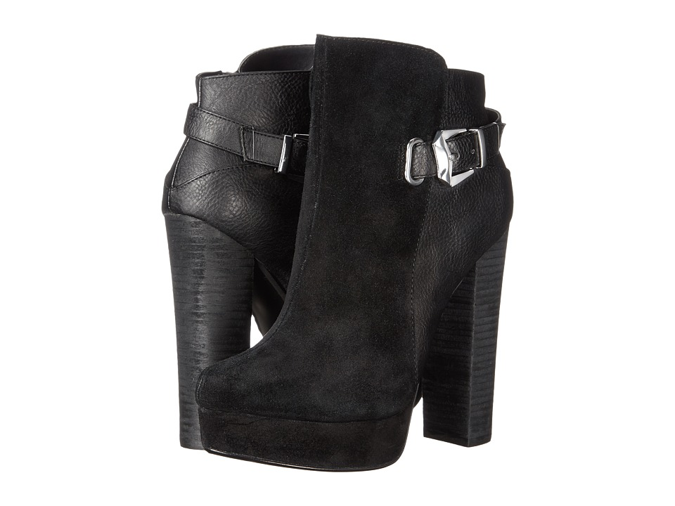 Chinese Laundry - Elise - Lounge Life (Black Suede) Women's Boots
