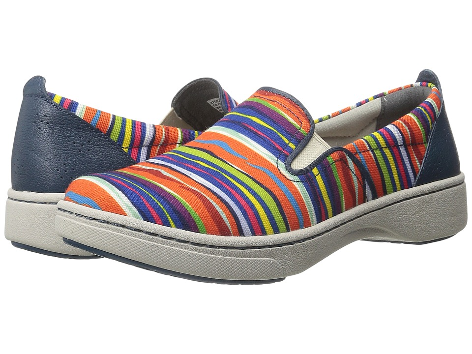 Dansko Belle (Multi Striped Canvas) Women