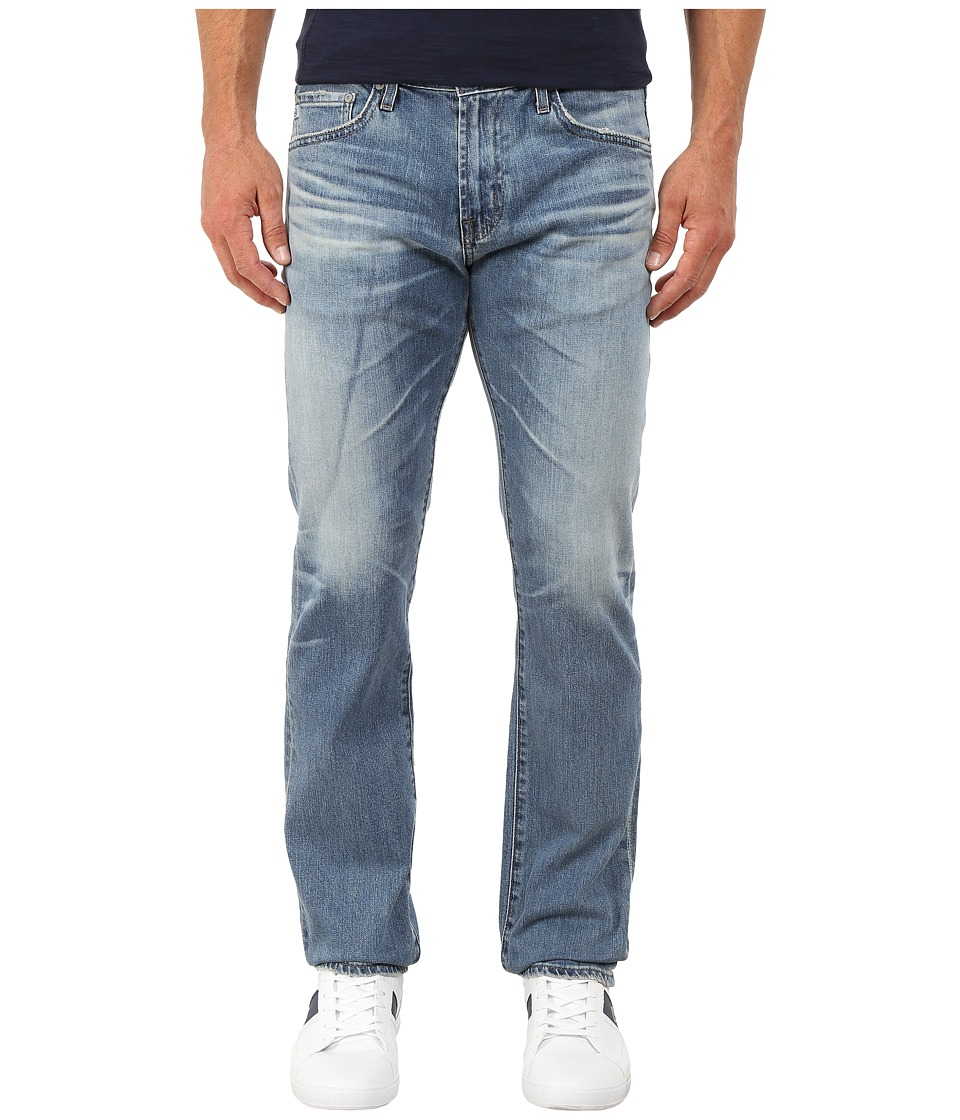 AG Adriano Goldschmied - Matchbox Slim Straight Denim in 14 Years Muir (14 Years Muir) Men's Jeans
