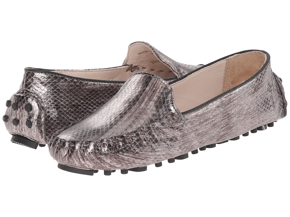 Cole Haan - Cary Venetian (Dark Silver Snake Print) Women's Slip on Shoes