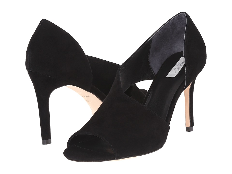 Cole Haan - Viveca (Black Suede) High Heels