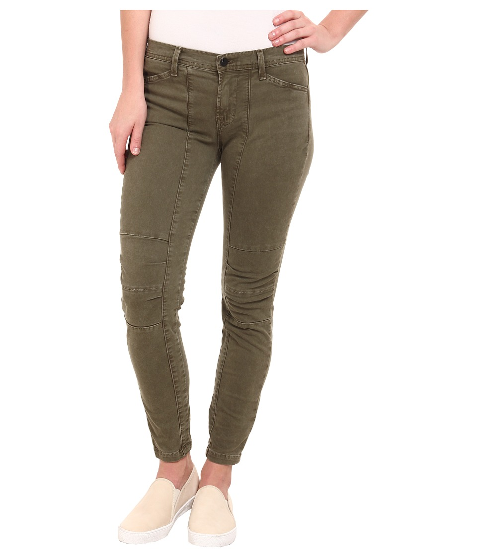 J Brand - Ginger Mid Rise Utility Pants in Jungle (Jungle) Women's Jeans