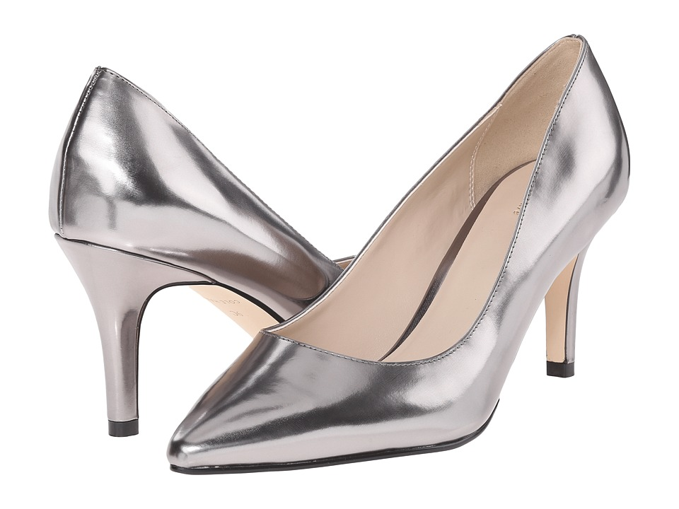 Cole Haan - Juliana Pump 75mm (Dark Silver Metalic) High Heels