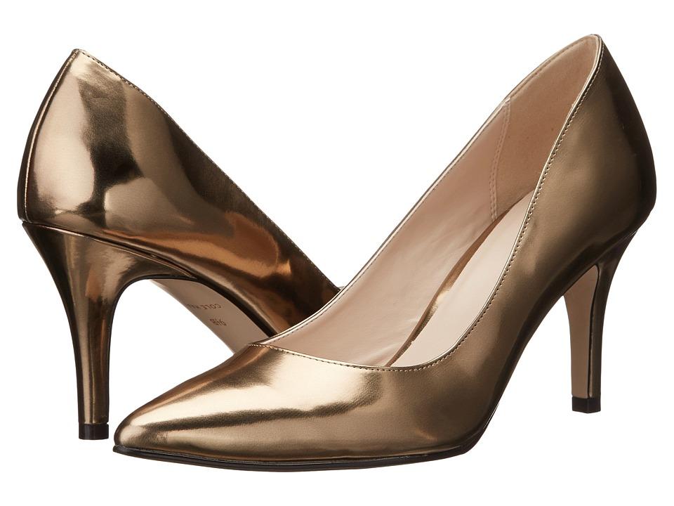 Cole Haan - Juliana Pump 75mm (Gold Metallic) High Heels