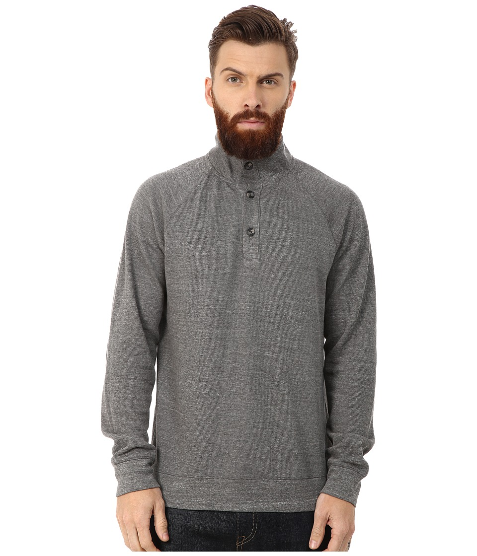 AG Adriano Goldschmied - Commute Funnel Neck (Heather Grey) Men's Clothing