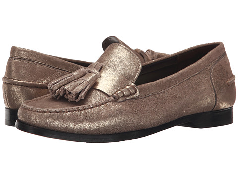 Cole Haan - Pinch Grand Tassel (Gold Metallic) Women's Slip on Shoes