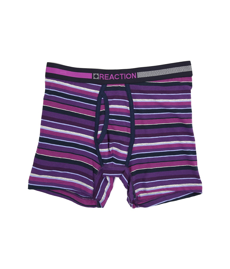 Kenneth Cole Reaction - Boxer Brief (Multi Stripe Purple) Men's Underwear